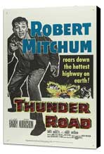Thunder Road - 27 x 40 Movie Poster - Style C - Museum Wrapped Canvas