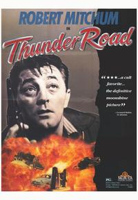 Thunder Road - 43 x 62 Movie Poster - Bus Shelter Style A