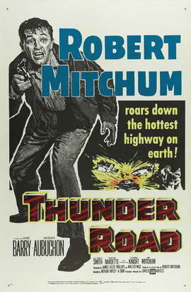 Thunder Road - 11 x 17 Movie Poster - Style B