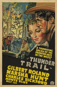 Thunder Trail - 11 x 17 Movie Poster - Style B