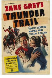 Thunder Trail - 27 x 40 Movie Poster - Style A