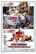 Thunderball - 27 x 40 Movie Poster - Style A