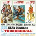 Thunderball - 40 x 40 - Movie Poster - Style A