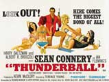 Thunderball - 30 x 40 Movie Poster UK - Style A