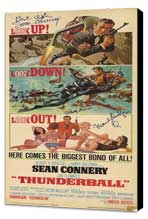 Thunderball - 14 x 36 Movie Poster - Insert Style A - Museum Wrapped Canvas