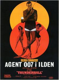 Thunderball - 11 x 17 Movie Poster - Danish Style A