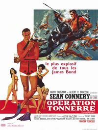 Thunderball - 11 x 17 Movie Poster - French Style A