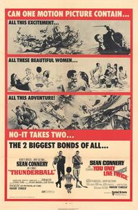 Thunderball - 11 x 17 Movie Poster - Style H