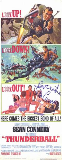 Thunderball - 14 x 36 Movie Poster - Insert Style B