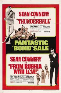 Thunderball - 11 x 17 Movie Poster - Style I