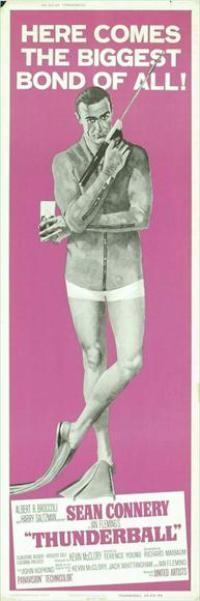Thunderball - 14 x 36 Movie Poster - Insert Style E
