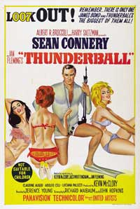 Thunderball - 27 x 40 Movie Poster - Australian Style A