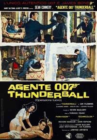Thunderball - 11 x 17 Movie Poster - Italian Style D