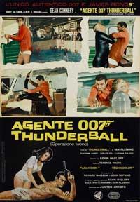 Thunderball - 11 x 17 Movie Poster - Italian Style B