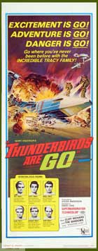 Thunderbirds Are Go - 14 x 36 Movie Poster - Insert Style A