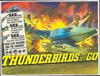 Thunderbirds Are Go - 11 x 17 Movie Poster - Style B