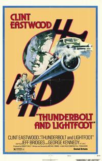 Thunderbolt & Lightfoot - 11 x 17 Movie Poster - Style B