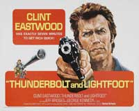 Thunderbolt & Lightfoot - 30 x 40 Movie Poster - Style A