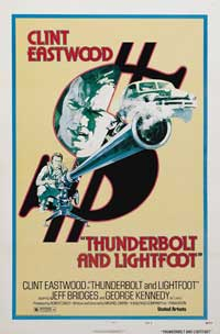 Thunderbolt & Lightfoot - 11 x 17 Movie Poster - Style D