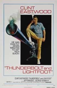 Thunderbolt & Lightfoot - 43 x 62 Movie Poster - Bus Shelter Style B