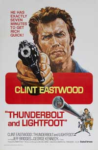 Thunderbolt & Lightfoot - 27 x 40 Movie Poster - Style D