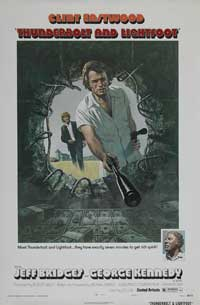 Thunderbolt & Lightfoot - 11 x 17 Movie Poster - Style F