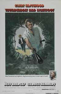 Thunderbolt & Lightfoot - 27 x 40 Movie Poster - Style E