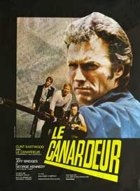 Thunderbolt & Lightfoot - 11 x 17 Movie Poster - French Style A