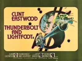 Thunderbolt & Lightfoot - 11 x 17 Movie Poster - UK Style A
