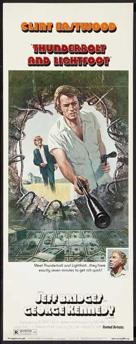 Thunderbolt & Lightfoot - 14 x 36 Movie Poster - Insert Style C
