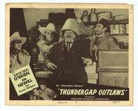 Thundergap Outlaws - 11 x 14 Movie Poster - Style H