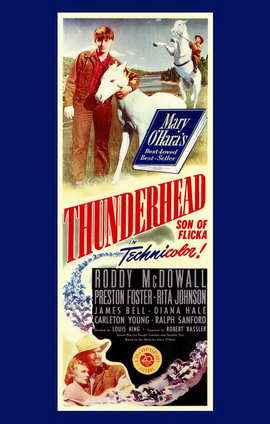 Thunderhead - Son of Flicka - 11 x 17 Movie Poster - Style A