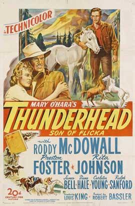 Thunderhead - Son of Flicka - 11 x 17 Movie Poster - Style B