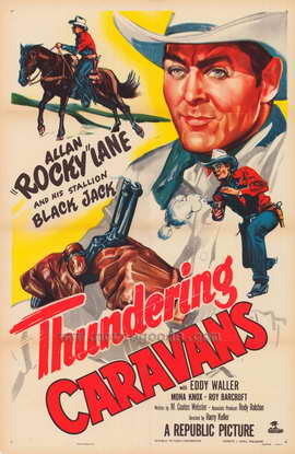 Thundering Caravans - 27 x 40 Movie Poster - Style A