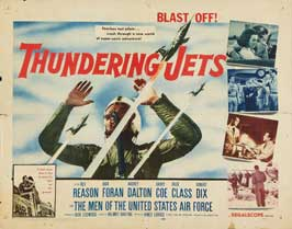 Thundering Jets - 11 x 14 Movie Poster - Style A