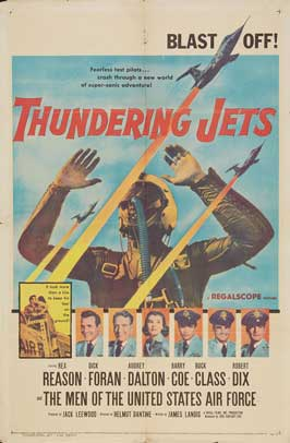 Thundering Jets - 11 x 17 Movie Poster - Style A