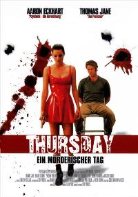 Thursday - 11 x 17 Movie Poster - German Style A