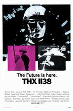 THX 1138 - 11 x 17 Movie Poster - Style A