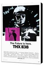 THX 1138 - 27 x 40 Movie Poster - Style A - Museum Wrapped Canvas