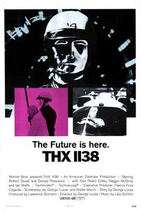 THX 1138 - 43 x 62 Movie Poster - Bus Shelter Style A