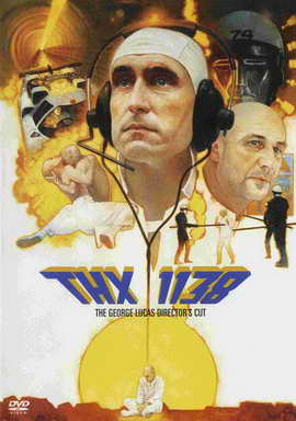 THX 1138 - 27 x 40 Movie Poster - Style C