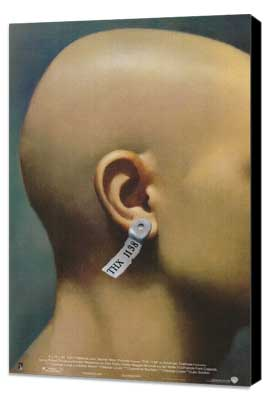 THX 1138 - 27 x 40 Movie Poster - Style B - Museum Wrapped Canvas