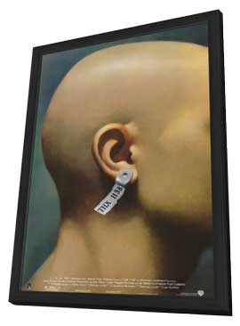 THX 1138 - 11 x 17 Movie Poster - Style C - in Deluxe Wood Frame