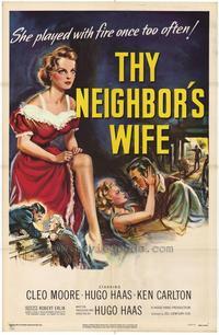 Thy Neighbor's Wife - 11 x 17 Movie Poster - Style B