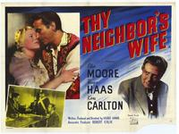Thy Neighbor's Wife - 27 x 40 Movie Poster - Style A