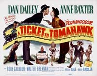 Ticket to Tomahawk - 22 x 28 Movie Poster - Half Sheet Style A