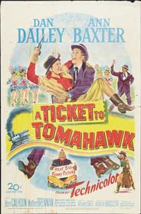 Ticket to Tomahawk - 11 x 17 Movie Poster - Style A