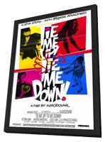 Tie Me Up! Tie Me Down! - 27 x 40 Movie Poster - Style A - in Deluxe Wood Frame