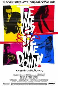 Tie Me Up! Tie Me Down! - 11 x 17 Movie Poster - Style B