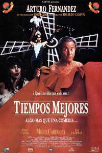 Tiempos mejores - 11 x 17 Movie Poster - Spanish Style A